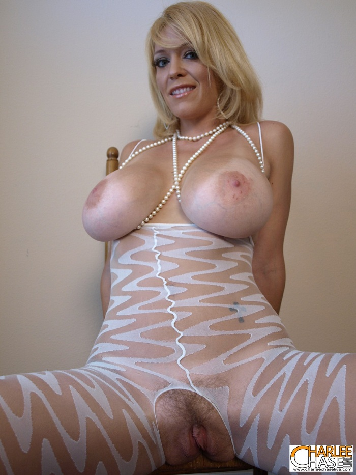image Kinky milf charlee chase gets her big tits tied up