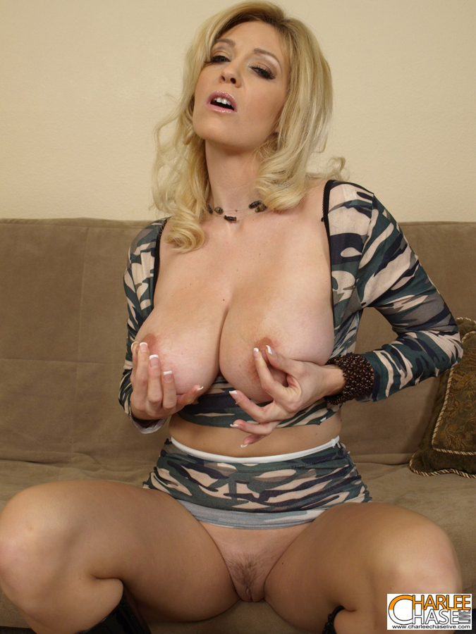 Official Site Of Charlee Chase Busty Big Tittied Blonde